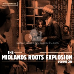 Reggae Archive Records-Double LP-The Midlands Explosion - Volume One / Various Artist