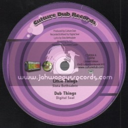"Culture Dub Records-10""-Little Things / Sista Bethsabee + Spellin / Culture Dub"