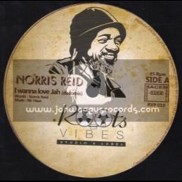 "Roots Vibes-12""-I Wanna Love Jah / Norris Reid"
