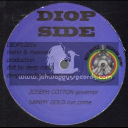 "Diop Side-12""-Governor / Joseph Cotton + Run Come / Sammy Gold + Creator / Sammy Gold - Bush Chemist Riddim Section"