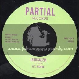 "Partial Records-7""-Jerusalem / G.T Moore"