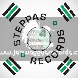 "Steppas Records-12""-Dub Dynasty – Monsoon Come ft Ras Tinny (Dutty Hands & Cranky General Remix)"