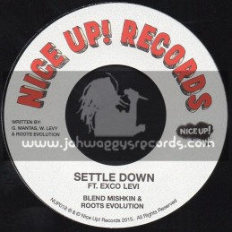 """Nice Up Records-7""""-Settle Down / Ft. Exco Levi"""