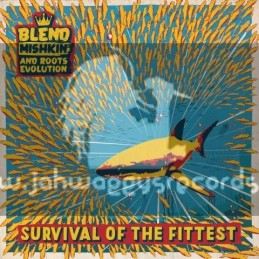 Nice Up Records-Lp-Survival Of The Fittest / Blend Mishkin And Roots Evolution - Various Artist