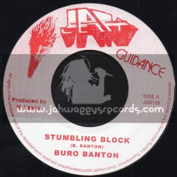"Jah Guidance-7""-Stumbling Block / Buro Banton"