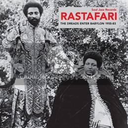 Soul Jazz Records-Double Lp-Rastafari-The Dreads Enter Babylon 1955-83 / Various Artist