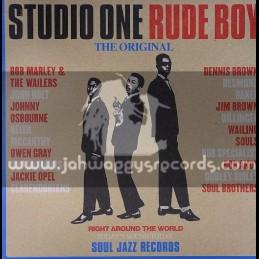 Soul Jazz Records-Double Lp-Studio One Rude Boy / Various Artist