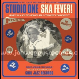 Soul Jazz Records-Double Lp-Studio One Ska Fever / Various Artist
