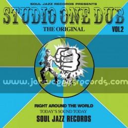 Soul Jazz Records-Double Lp-Studio One Dub Vol. 2 / Various Artist