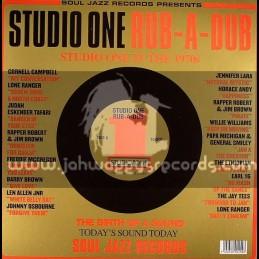 Soul Jazz Records-Double Lp-Studio One Rub A Dub / Various Artist