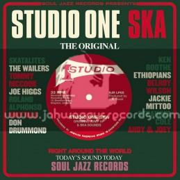 Soul Jazz Records-Double Lp-Studio One Ska / Various Artist