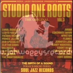 Soul Jazz Records-Double Lp-Studio One Roots Vol 3 / Various Artist