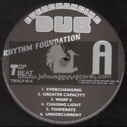 Top Beat Records-Lp-Everchanging Dub / Rhythm Foundation