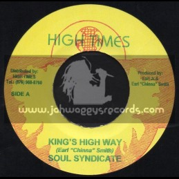 """High Times Records-7""""-Kings Highway + Russians Are Coming / Soul Syndicate"""