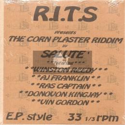 "R.I.T.S-7""-The Corn Plaster Riddim Feat. Salute, Winston Reedy, A J Franklin, Ras Captain, Donovan Kingjay & Vin Gordon"