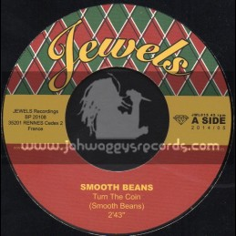 """Jewels Ska And Rocksteady-7""""-Turn The Coin / Smooth Beans + Turn The Sax / Smooth Beans"""