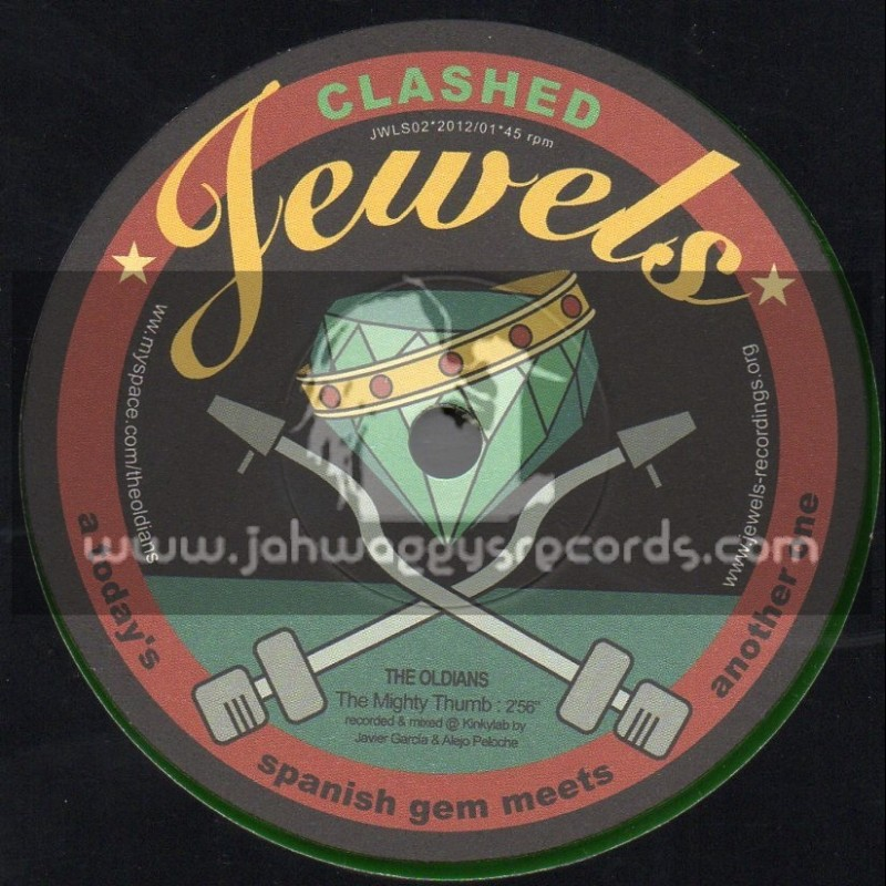 """Jewels Ska And Rocksteady-7""""-The Mighty Thumb / The Oldians + Keep It Up / The Kinky Coo Coos"""