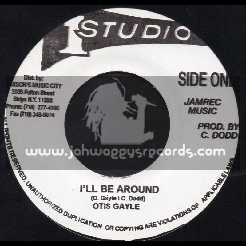 "Studio 1-7""-I ll Be Around / Otis Gayle"