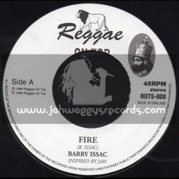 "Reggae On Top-7""-Fire / Barry Issac"