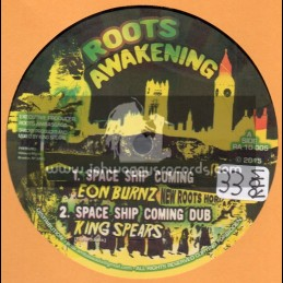"""Roots Awakening-10""""-Space Ship Coming / Eon Burnz + Hold Ur Head / King Spears"""