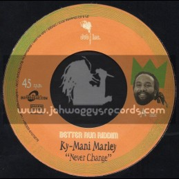 """Dub Inc-7""""-Never Change / Ky Mani Marley + Solidarity Be Your Friend / Exco Levi"""
