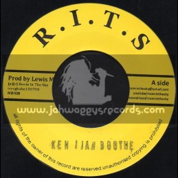 """R.I.T.S-7""""-Wannabe / Ken I Jah Boothe"""