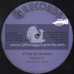 """S & G Records-12""""-A True You Na Know + Going Places / Naggo Morris"""
