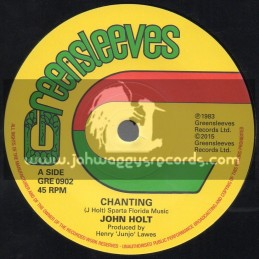 "Greensleeves-7""-Chanting / John Holt"