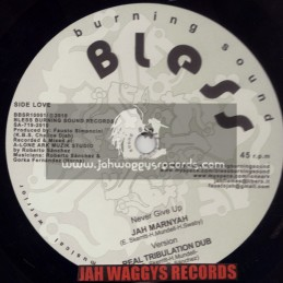 "BURNING SOUNDS BLESS-10""-NEVER GIVE UP/JAH MARNYAH + SERIOUS DAYS / SOLO BANTON"