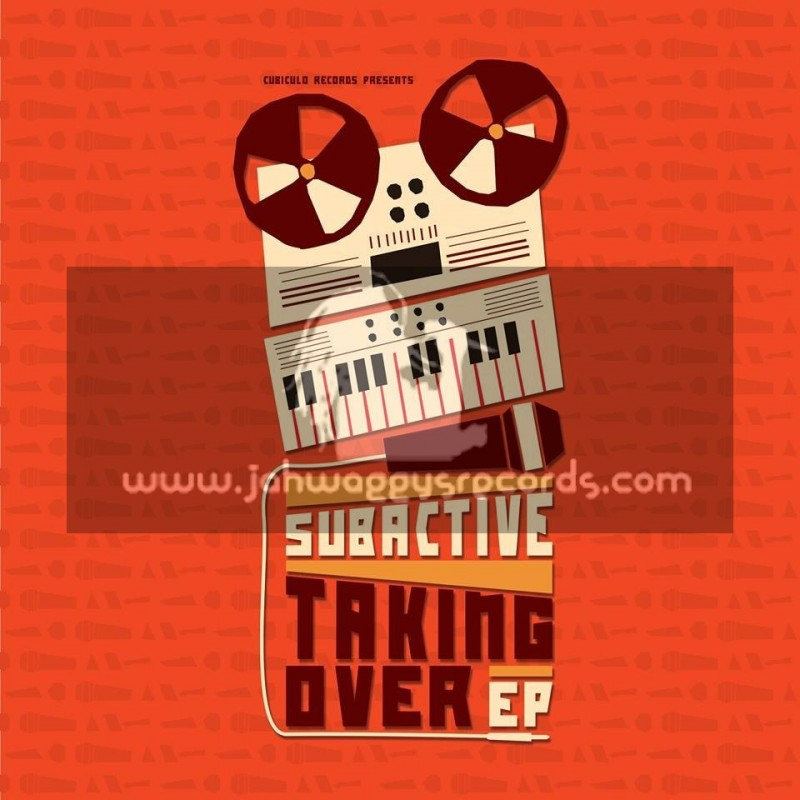 """Cubiculo Records-12""""-Taking Over Ep / Subactive"""
