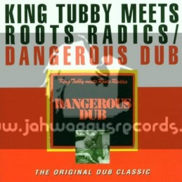 Greensleeves-Dub Master-Lp-Dangerous Dub / King Tubbys Meets Roots Radics