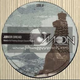 "Moonshine Recordings-12""-Wonderful Feeling / Junior Dread-Gorgon Sound Remix + Freedom / Junior Dread - Dj Madd Remix"