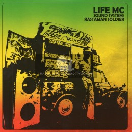 """Suspect Packages-7""""-Sound System + Rastaman Soldier / Life Mc"""