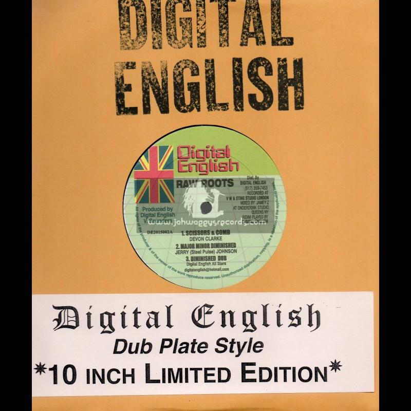 "Digital English-10""-Scissors & Comb/Devon Clarke+Major Minor Diminished/Jerry Johnson+One Aim One Love/Marcia Davis"