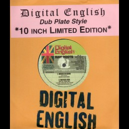 """Digital English-10""""-Wicked Go Down / Scion Success + Hot Like Fire / Lin Stong + Limited Roots / Glen Brown"""