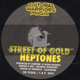 "Cultural Warriors Music-7""-Street Of Gold / Heptones"