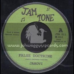 "Jam Tone Records-7""-False Doctrine / Jahovi"