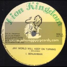 "Lion Kingdom-12""-Jah World Will Keep On Turning / I. Benjahman"