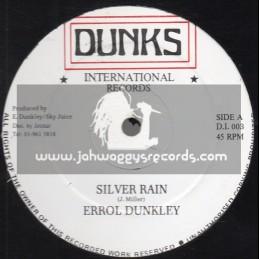 "Dunks International Records-12""-Silver Rain / Errol Dunkley"