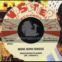"Upsetter Records-7""-Mini Mini Dress / Righteous Flame + Not Taking Any Sentance / Danny Clarke"