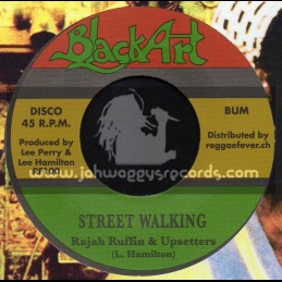 "Black Art-7""-Street Walking / Rajah Ruffin & Upsetters"