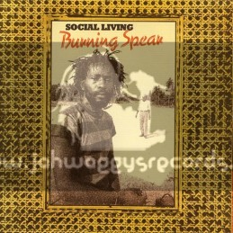 Island Records-Double-Lp-Social Living / Burning Spear - Vocal & Dubwise Showcase