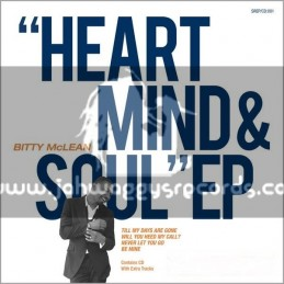 """Taxi Records-10""""-Heart  Mind  Soul EP / Bitty McLean"""