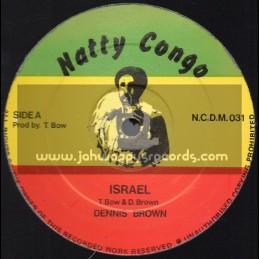 """Natty Congo-12""""-Israel / Dennis Brown"""