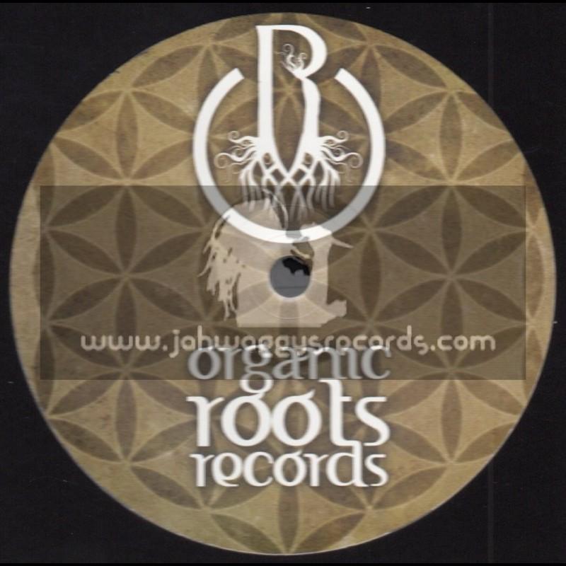 """Organic Roots Records-10""""-Long River / Makom. Rion - Mahom + Mektoub / Otmane Maamari - Mahom"""