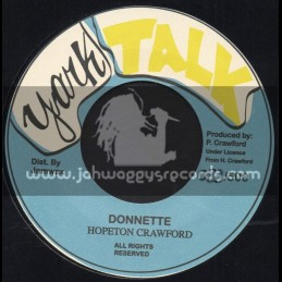 "Youth Talk-7""-Donnette / Hopeton Crawford"