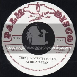 """Palm Disco-7""""-They Just Cant Stop Us / African Star"""