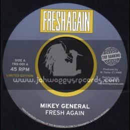 "Top Ranking-7""-Fresh Again + I Said No / Mikey General"