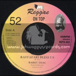 "Reggae On Top-7""-Rastafari Bless Us / Barry Issac"