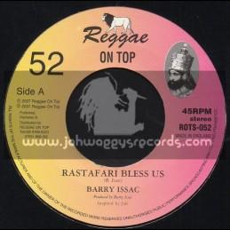 """Reggae On Top-7""""-Rastafari Bless Us / Barry Issac"""